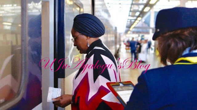 Aisha Buhari returns to London — after spending three days in Nigeria