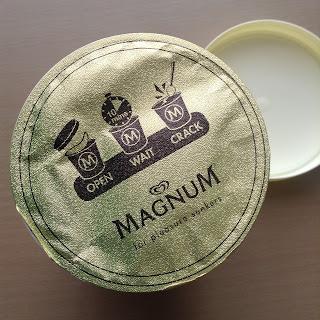 magnum tub white chocolate