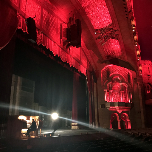 Fox Theatre Ghost Tour 2018 | Photo: Travis Swann Taylor