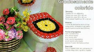 Juego de toillet al crochet / patrones de revista