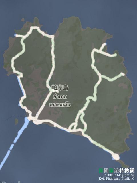 [泰國.帕岸島] 帕岸島的小小摩托車環島之旅 夜晚的泰拳競技秀