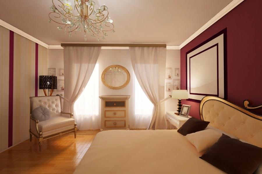 Design interior dormitor New Classic