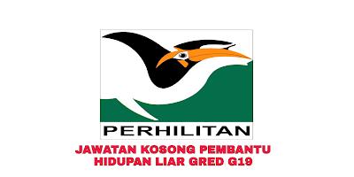 Permohonan Jawatan Kosong Pembantu Hidupan Liar G19 2019