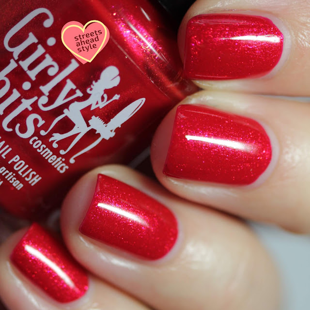 Girly Bits Sleigh My Name, Sleigh My Name swatch by Streets Ahead Style