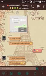 Download BBM MOD hk love in paris