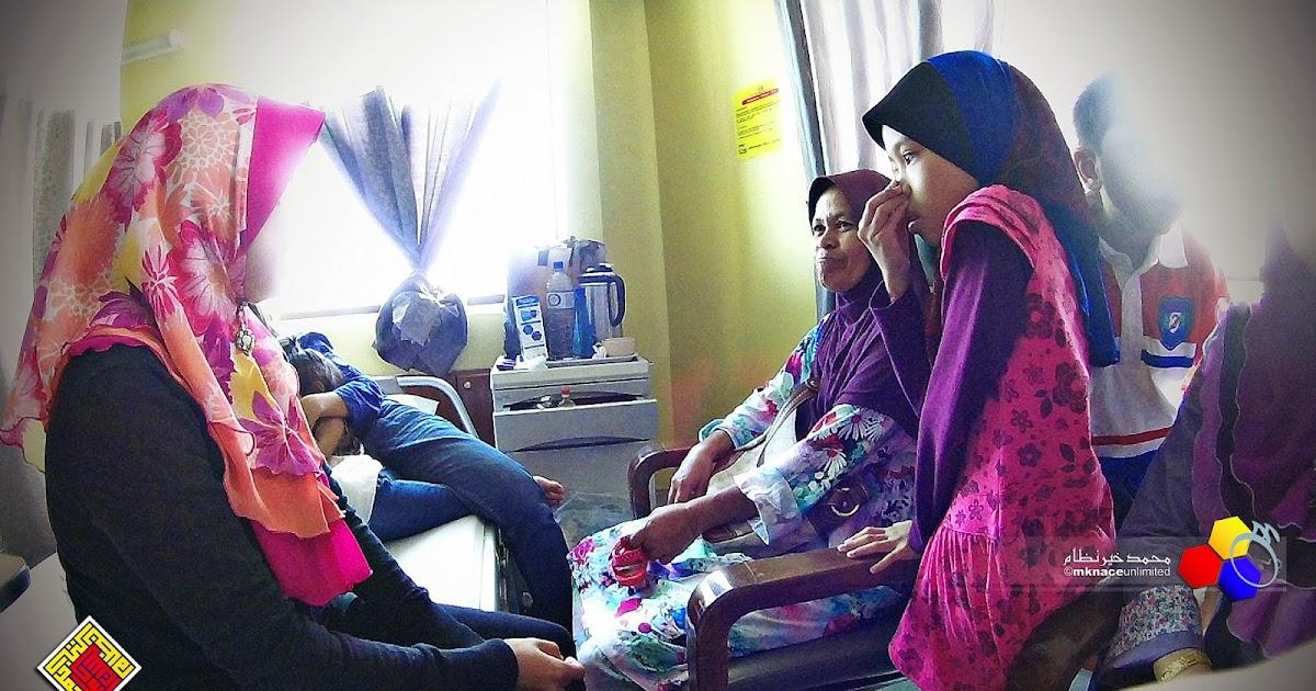 Melawat anak buah di Hospital Pakar Puteri 1330a50ddd