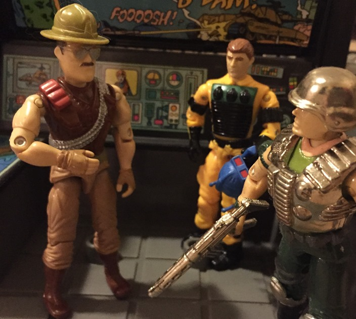 1988 Sgt. Slaughter, Lightfoot, Super Trooper, Mail Away, 1983 G.I. Joe HQ