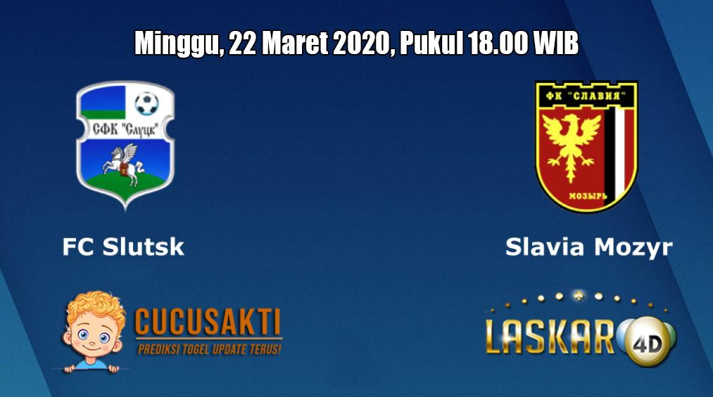 Prediksi Slutsk VS Slavia Mozyr 22 Maret 2020