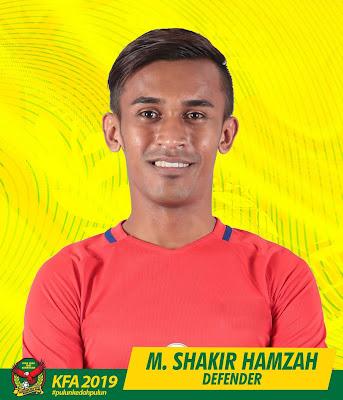 Biodata Shakir Hamzah Pemain Import Baru Kedah 2019