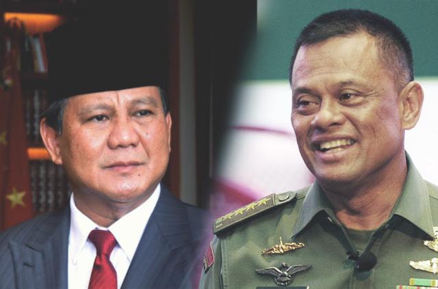 Prabowo - Gatot Pilihan Tepat Koalisi Keumatan