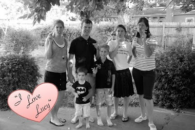 I Love Lucy party photo