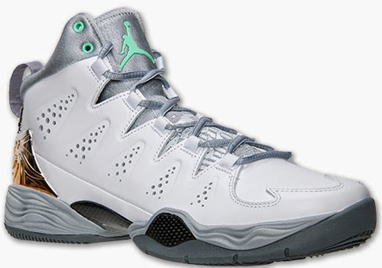 low priced f9546 d4362 Jordan Melo M10 White Green Glow-Wolf Grey May 2014