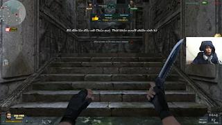 [CauBeNguNgo] Dao găm đua top nhặt súng cực chất