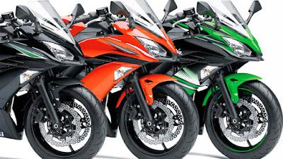 2017 Kawasaki Ninja 650 ABS all colours image