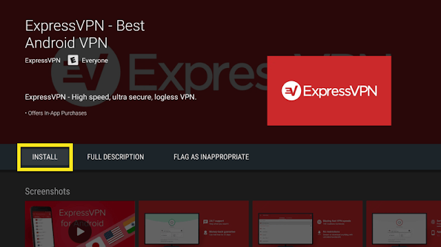Download ExpressVPN for Android