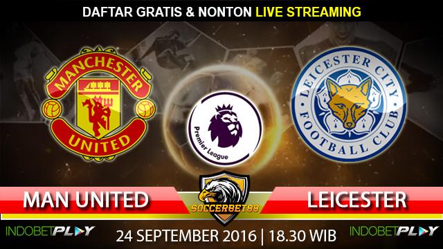 Prediksi Manchester United vs Leicester 24 September 2016 (Liga Inggris)