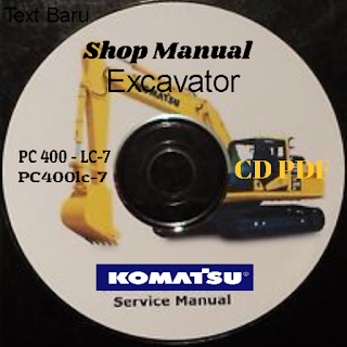 Shop Manual Komatsu pc400-7 pc400lc-7