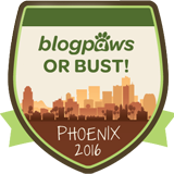 BlogPaws or Bust!