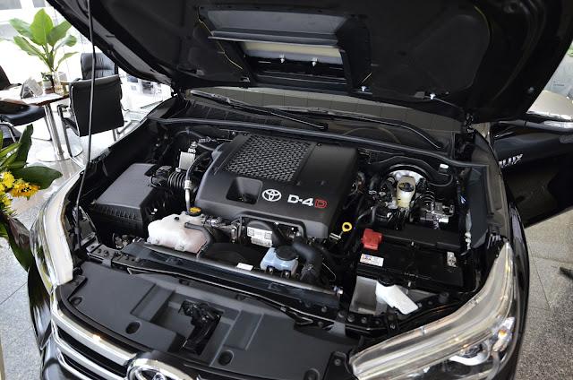 Động cơ trang bị trên các xe của Toyota nổi tiếng về sự bền bỉ và tiết kiệm nhiên liệu