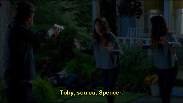 Toby, Spencer e Alex