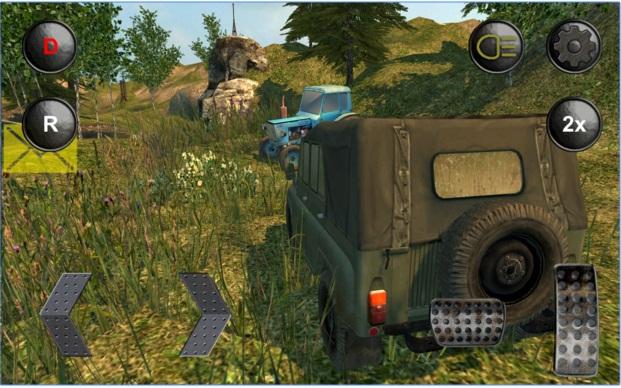 4x4 Russian SUVs Off-Road