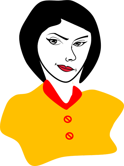 Working Woman Clipart1