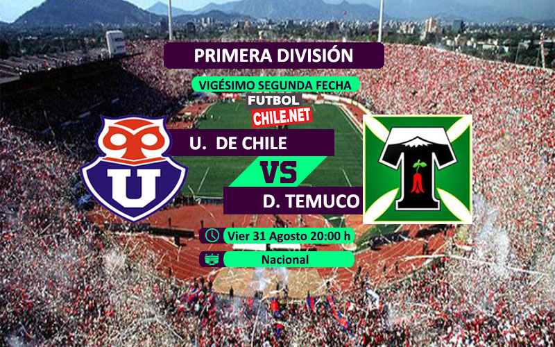 PREVIA: Universidad de Chile vs Deportes Temuco