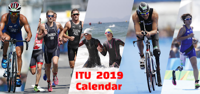 ITU, 2019, calendar, schedule, dates, Triathlon, WTS, events, World Cups, Mixed Relay Series, Paratriathlon.