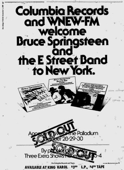 Bruce Springsteen's Most Memorable NYC Concerts   Village Voice
