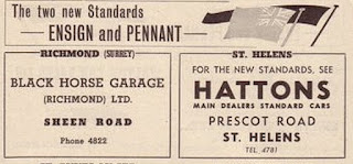 Hattons, Prescot Road, St Helens advert in Autocar 18 Oct 1957