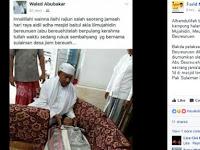 Pria ini Meninggal saat Sholat Idul Adha, Sungguh Akhir yang Indah