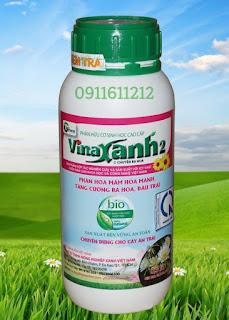 Phân hữu cơ sinh học Vinaxanh 2