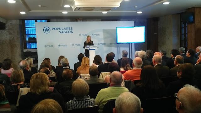 El PP vasco aboga por refomar la RGI, bajar impuestos y ayudar a las familias monoparentales