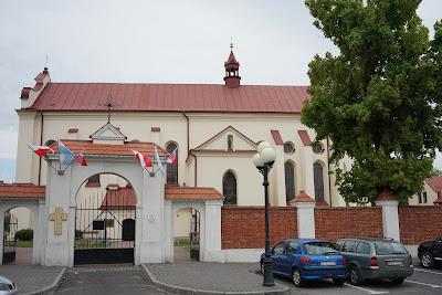 Leżajsk kościół pod wezwaniem Świętej Trójcy i Wszystkich Świętych (farny)
