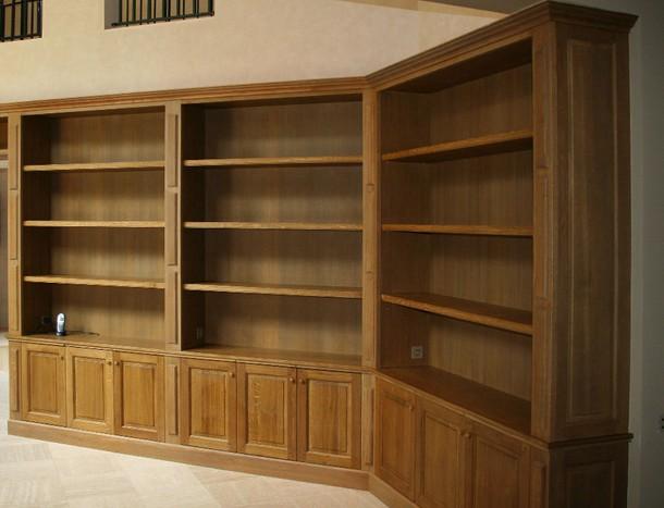 Librerie in legno librerie in vero legno for Libreria ufficio
