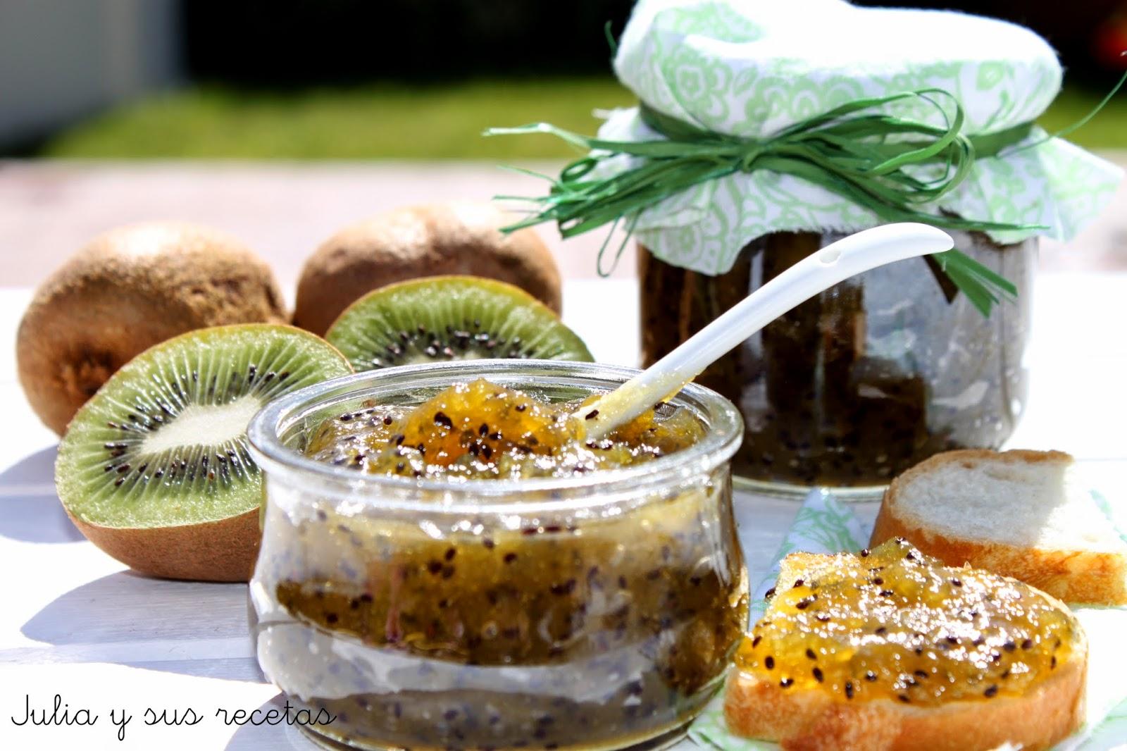 Mermelada de kiwi. Julia y sus recetas
