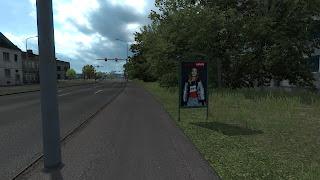 ets 2 real advertisements v1.3 screenshots, latvia 8