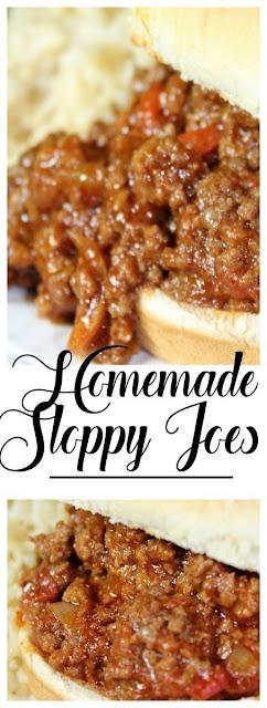 Homemade Instant Pot Sloppy Joes