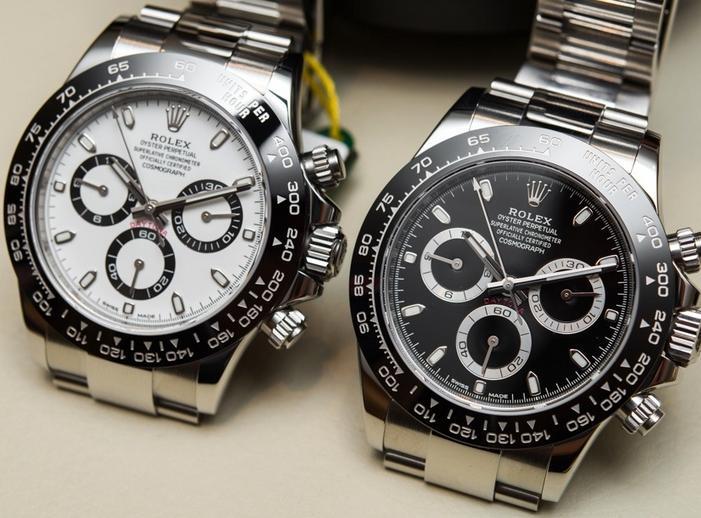 db864dda582f La caja media de replicas de relojes Rolex Cosmograph Daytona está hecha de  un sólido bloque de acero 904L. Todavía vemos el caso acanalado y sin  adornos de ...