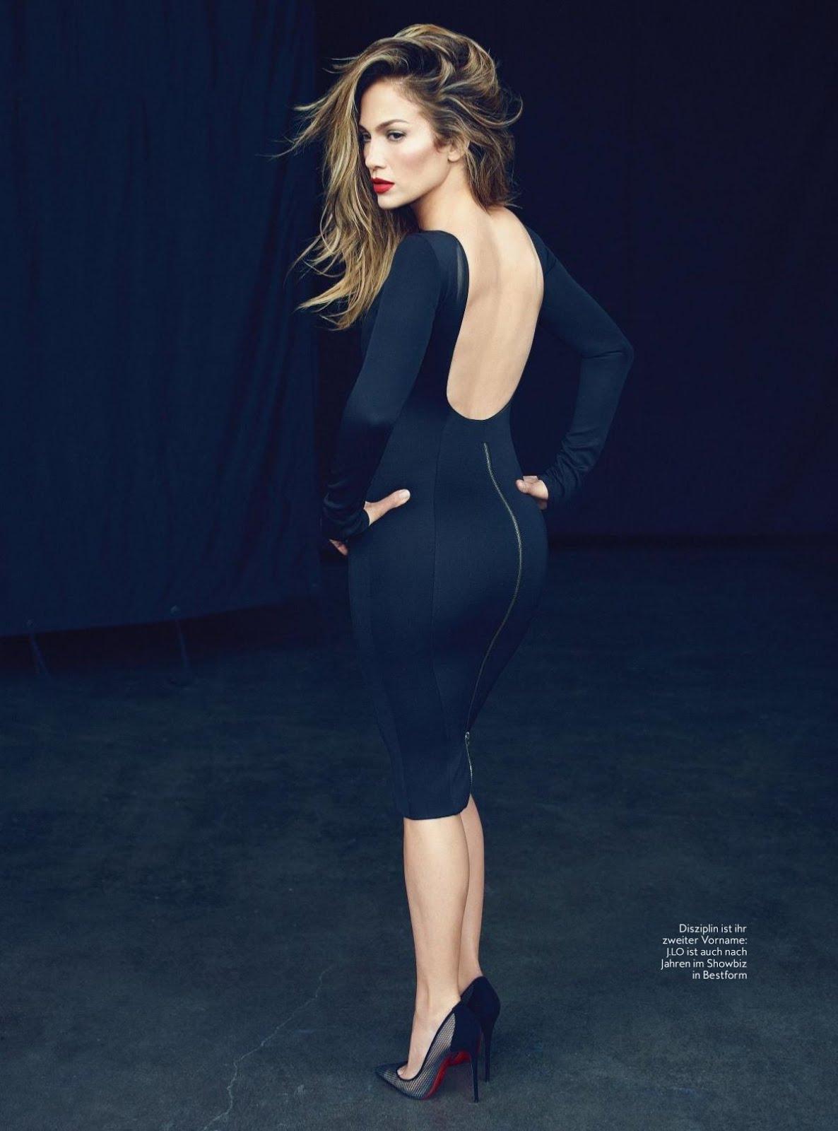Jennifer Lopez In Instyle Magazine Germany February 2018