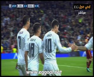 اهداف و ملخص مباراة ريال مدريد 2-0  روما فى اياب دور 16 لبطولة دورى ابطال اوربا