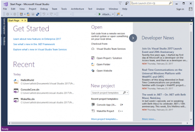 Visual Studio 2017 has been released With new features