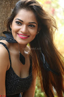 Aswini in lovely Deep Neck Sleeveless Black Dress Spicy Pics ~  Exclusive 17.JPG