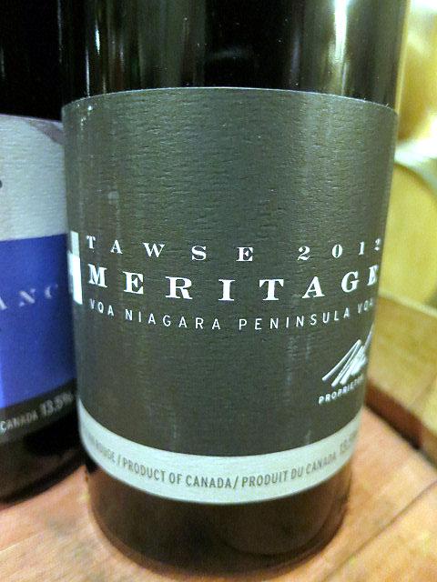 Tawse Meritage 2012 (92 pts)