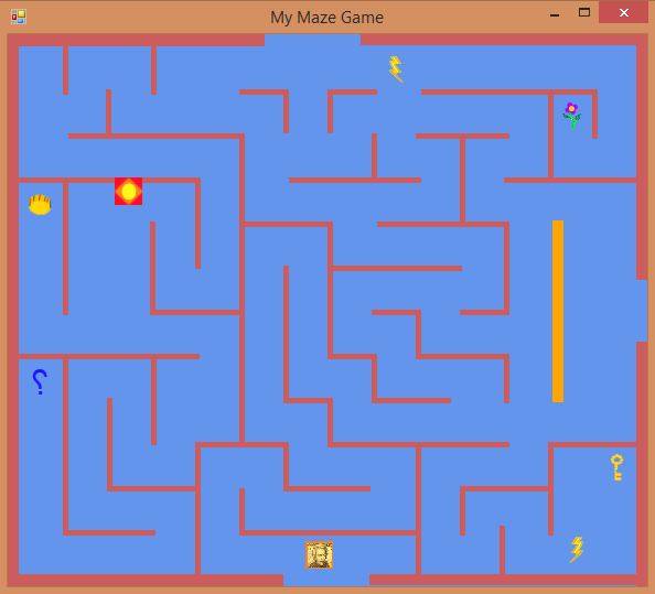 Preempted: Visual Basic - Maze With Walls as Solid Barriers