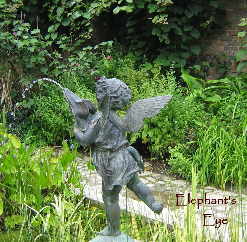 Cherub in the Italian Garden at Heligan