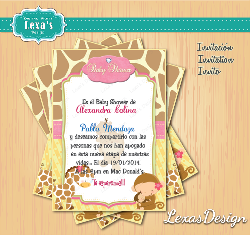 Kit  baby shower  candy bar gratis