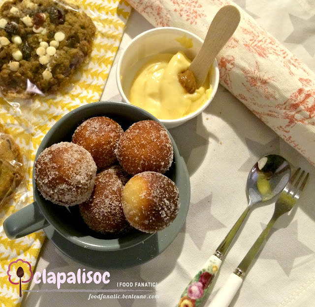 The Flour Jar Mini Doughnuts Tres Leches Dip