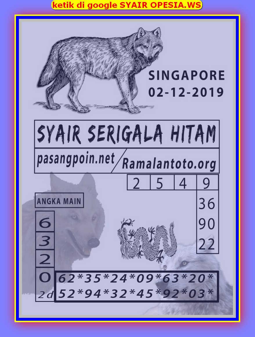 Kode syair Singapore Senin 2 Desember 2019 36