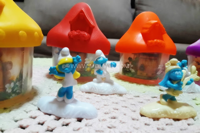 McDo, Smurfs, Happy Meal toys